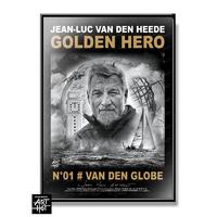 """AFFICHE """"VDH""""-GOLDEN HERO-N°01-Van Den GlobeM"""