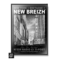 AFFICHE NEW BREIZH N°02-RAdio Ci Ti-Post