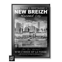 AFFICHE NEW BREIZH N°06-Dock of La Fosse