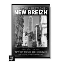AFFICHE NEW BREIZH N°10-Tour de Breizh