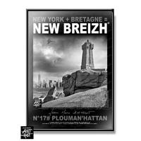AFFICHE NEW BREIZH N°17-Plouman'Hattan
