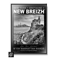 AFFICHE NEW BREIZH N°19-Manhattan Manor