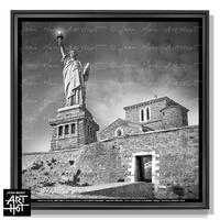 PHOTO D'ART NEW LES SABLES N°22-Statue of La Chaume