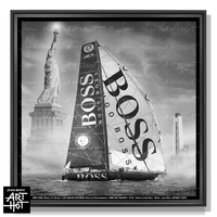 PHOTO D'ART NEW LES SABLES N°32-Statue of the Boss