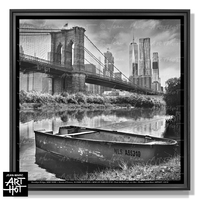 PHOTO D'ART NEW LES SABLES N°45-Pont de Brooklyn sur Mer