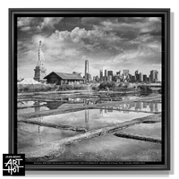 PHOTO D'ART NEW LES SABLES N°46-Statue de sel of Liberty
