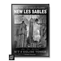 AFFICHE NEW LES SABLES N°07-Eglise Tower