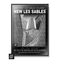 AFFICHE NEW LES SABLES N°16-St Nicolas Buildings