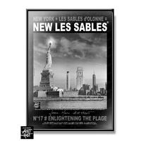 AFFICHE NEW LES SABLES N°17-Enlightening the Plage