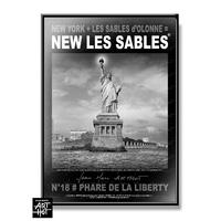 AFFICHE NEW LES SABLES N°18-Phare de la Liberty