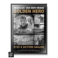 "AFFICHE ""VDH""-GOLDEN HERO-N°05-Action Sailor"