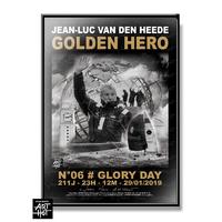 "AFFICHE ""VDH""-GOLDEN HERO-N°06-Glory Day"