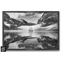 "PHOTO D'ART ""LE FANTÔME DE NORVÈGE""-N°01-Black Fog Mirror 4209"