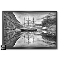 """PHOTO D'ART """"LE FANTÔME DE NORVÈGE""""-N°02-Perfect Mirror-4118"""