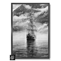 "PHOTO D'ART «LE FANTÔME DE NORVÈGE""-N°06-Tall Ship Fantôme-4256"