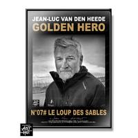 """AFFICHE """"VDH""""-GOLDEN HERO-N°07-Le Loup des Sables"""
