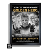 "AFFICHE ""VDH""-GOLDEN HERO-N°06-Glory Day - EDITION LUXE"