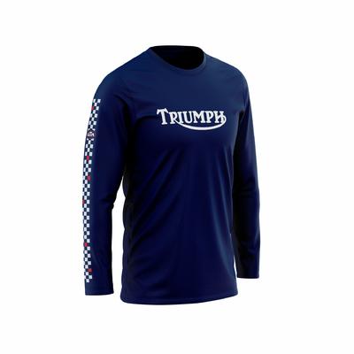 TRIUMPH Bleu Marine - Blanc