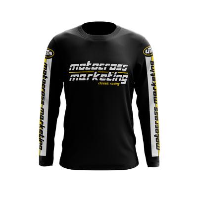MXM Team Coton Noir Noir Jaune