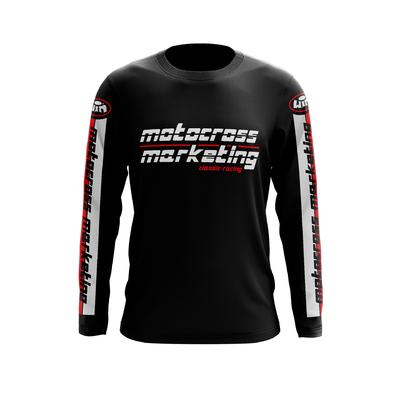 MXM Team Coton Noir Noir Rouge