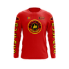 Maillot Trial BULTACO Cemoto Rouge Face