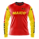 Maillot MAICO Motocross Vintage Enduro Classic Face