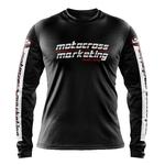 Maillot MXM Aéré Team Noir Blanc Rouge Face