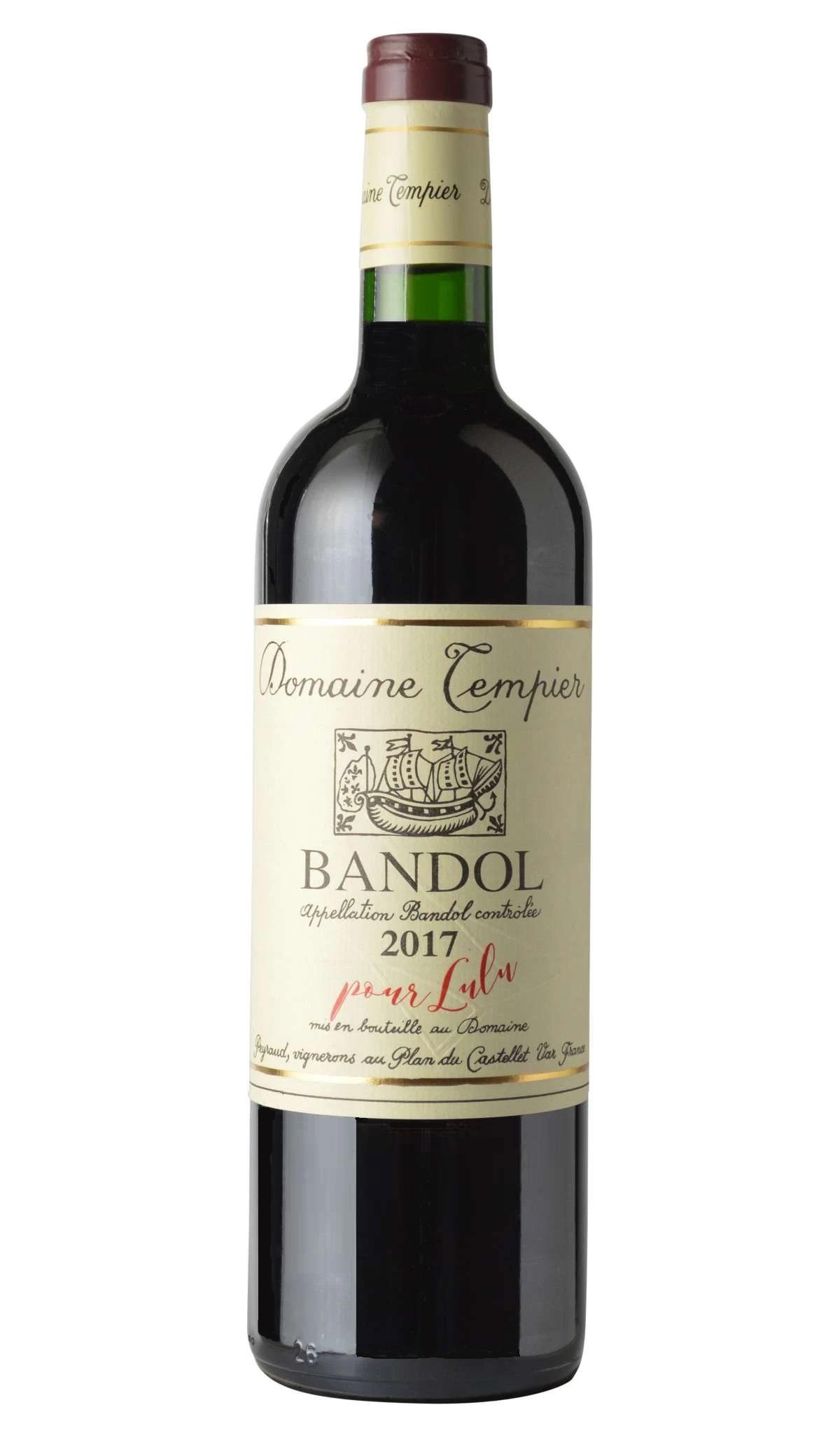 Bandol Domaine Tempier pour Lulu 2017 MAGNUM