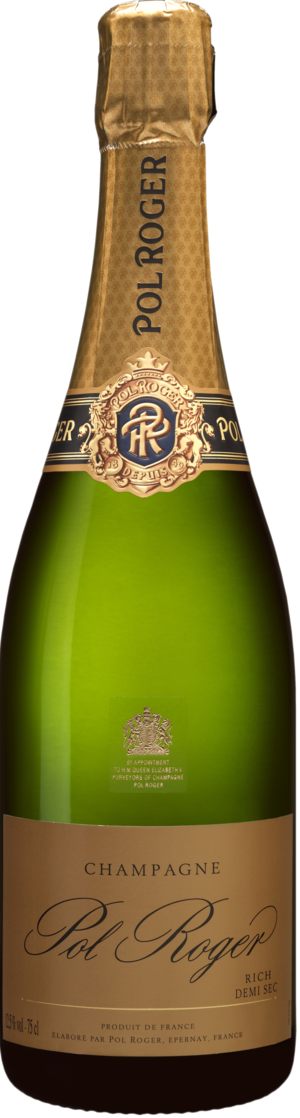 Champagne Pol Roger RICH Demi-Sec