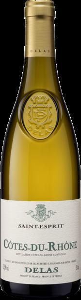 Cotes du Rhone Blanc Saint Esprit Delas 2016
