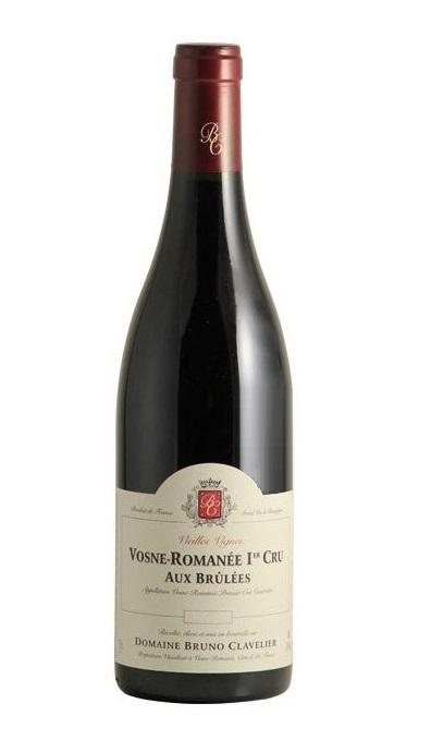 B Clavelier Vosne Romanee 1er Cru  Aux Brulees Vieilles Vignes 2014