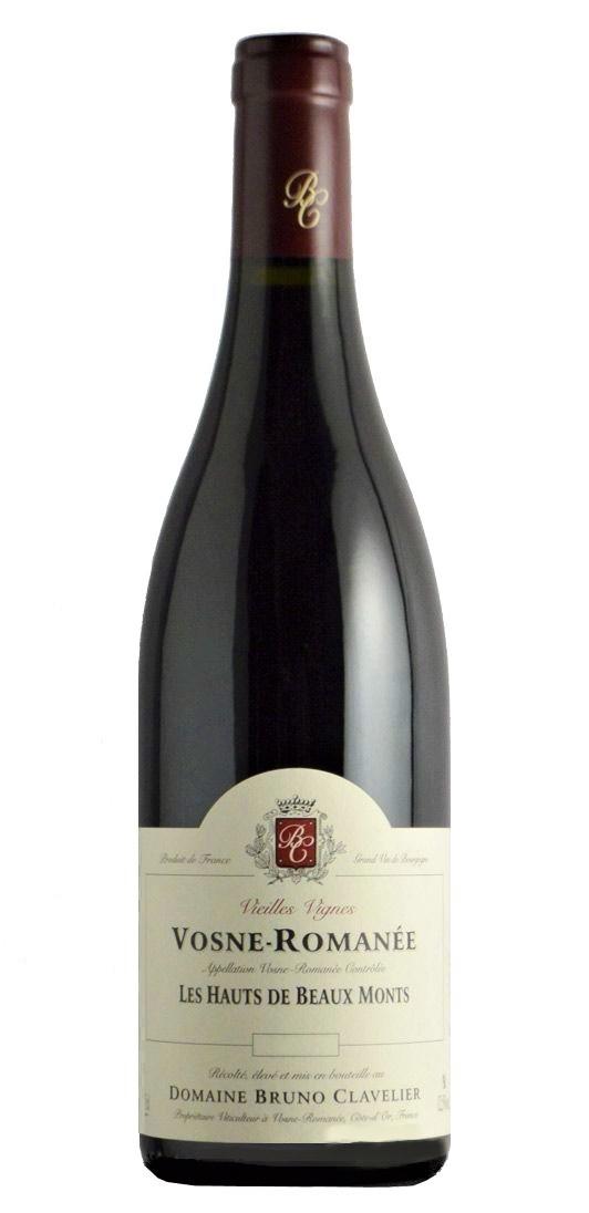 B Clavelier Vosne Romanee Les Hauts de Beaux Monts Vieilles Vignes 2014