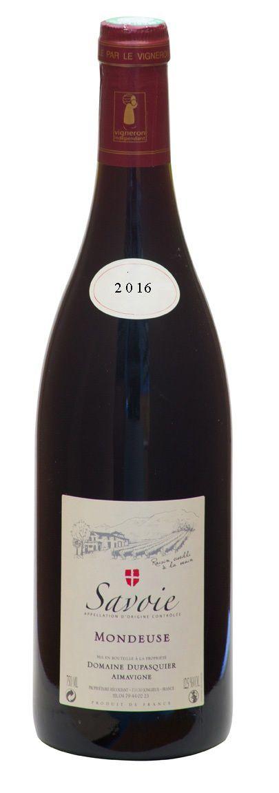 Domaine Dupasquier Vin de Savoie Cuvée Gourmandise 2016