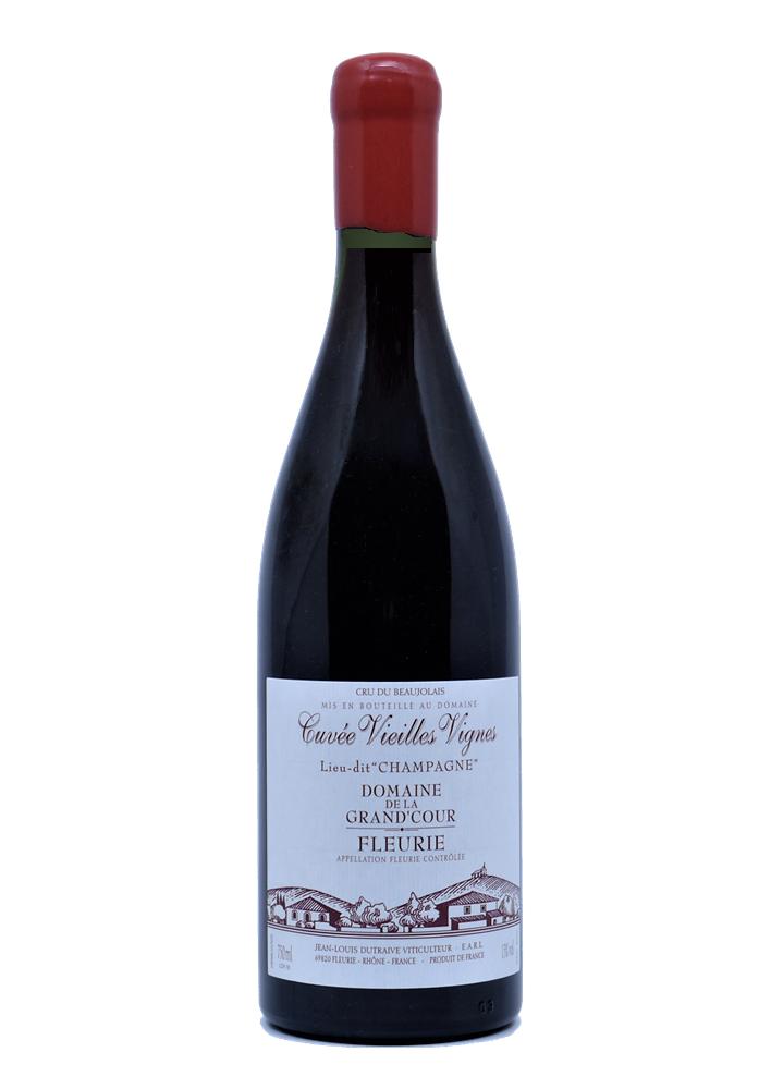 JL Dutraive Fleurie Domaine de la Grand\'Cour Lieu-dit Champagne Vieilles Vignes 2019