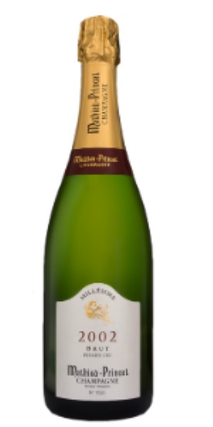 Champagne Mathieu-Princet 1er Cru Millesime 2002 Brut