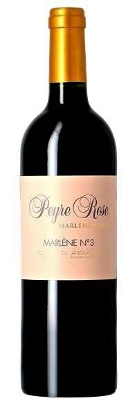 Vin de France du Languedoc Domaine Peyre Rose Marlene N3 2010