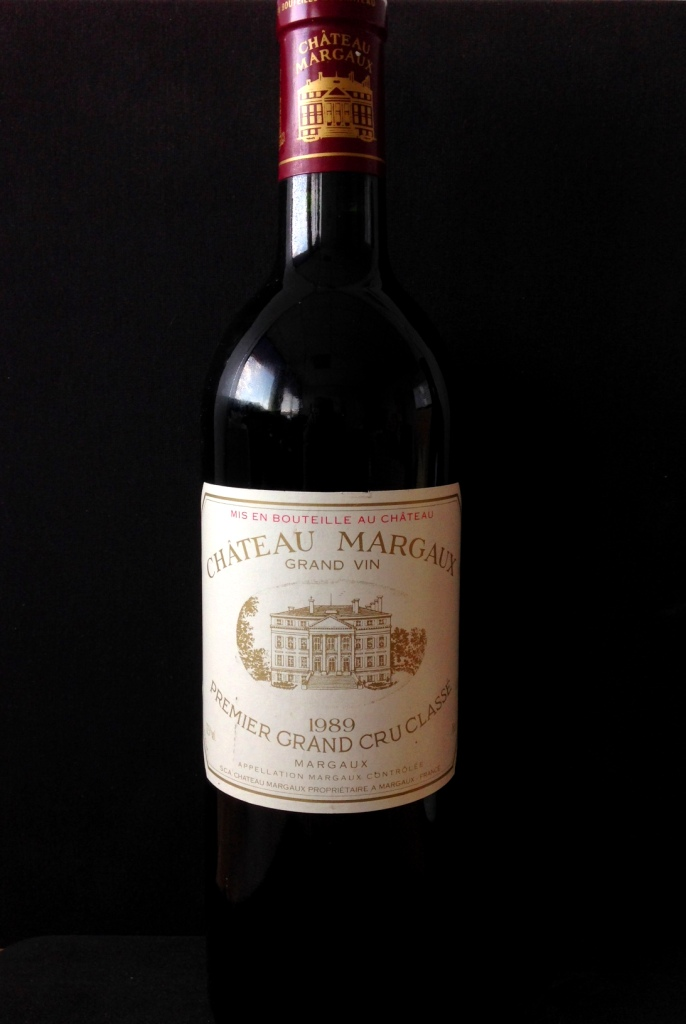 Margaux 1er Cru Classé Chateau Margaux 1989