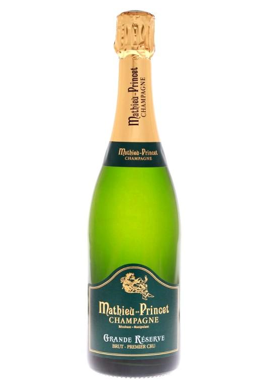 Champagne Mathieu-Princet Grande Réserve  1er Cru Brut