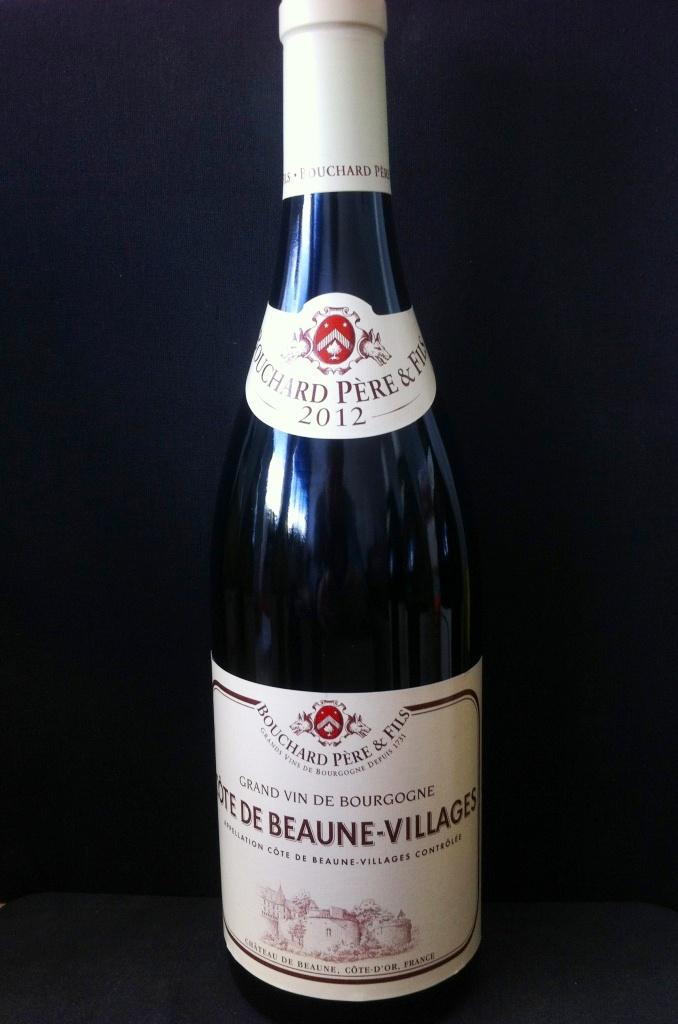 Cote de Beaune Rouge Bouchard Pere et Fils 2012