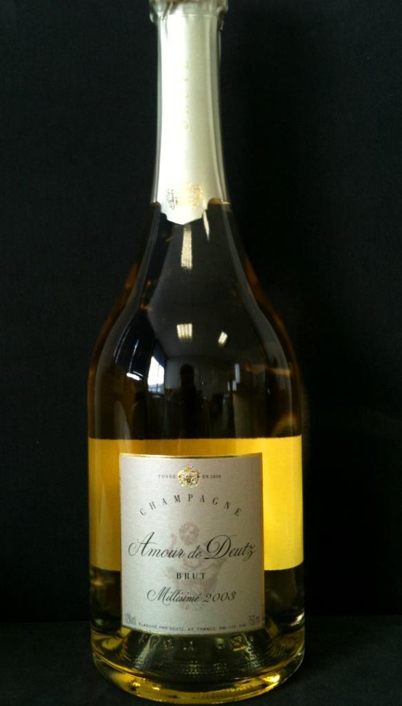 Champagne Deutz Cuvée Amour de Deutz Millésimé 2003