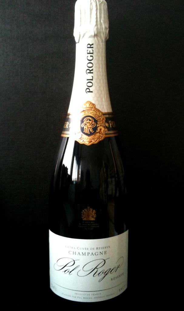 Champagne Pol Roger Extra Cuvée de Réserve Brut Demi-Bouteille