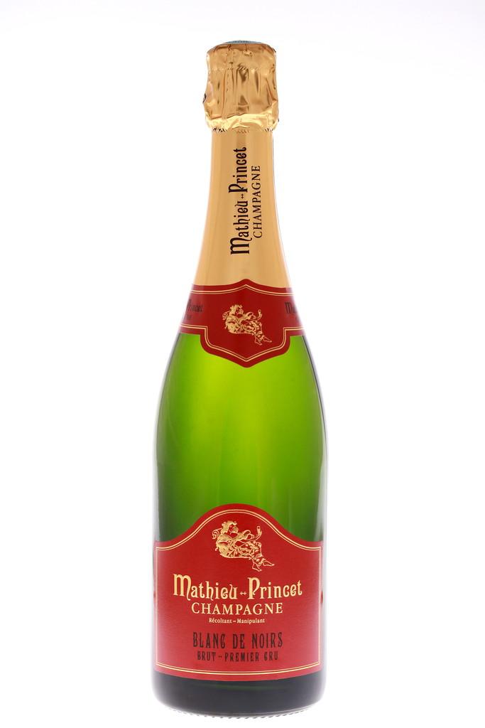 Champagne Mathieu-Princet Blanc de Noirs 1er Cru Brut
