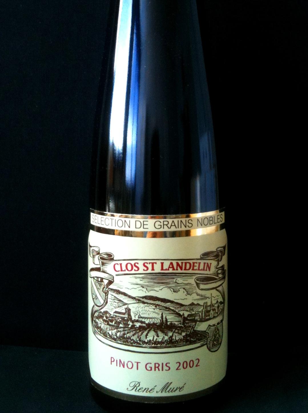 Pinot Gris Clos St Landelin G.C. Monopole Selection Grains Nobles 50cl 2002