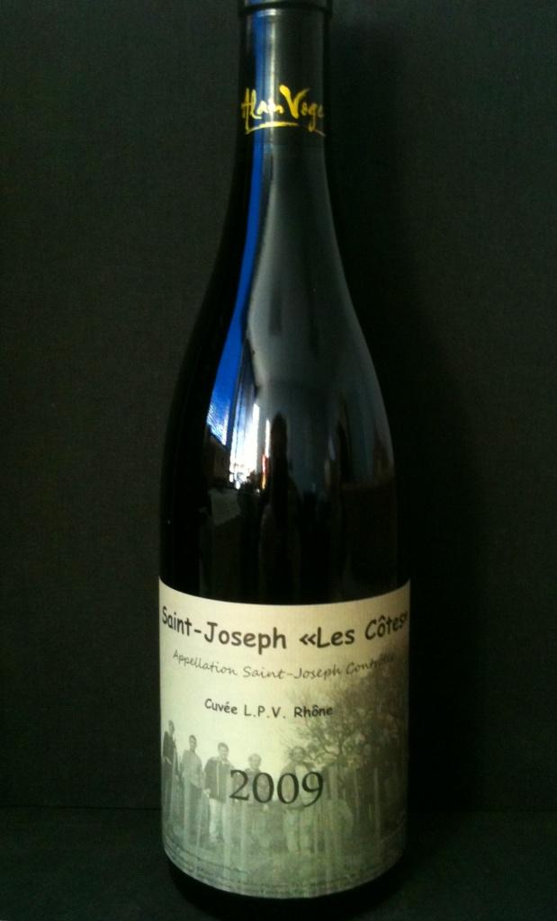 Saint Joseph Les Cotes Cuvee LPV Rhone A.Voge 2009