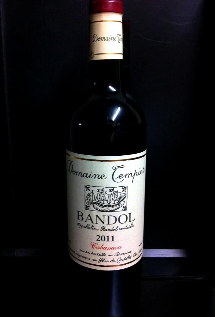 Bandol Domaine Tempier Cabassaou 2015