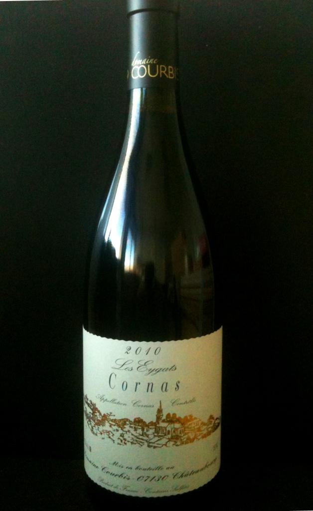 Cornas Les Eygats Courbis 2012