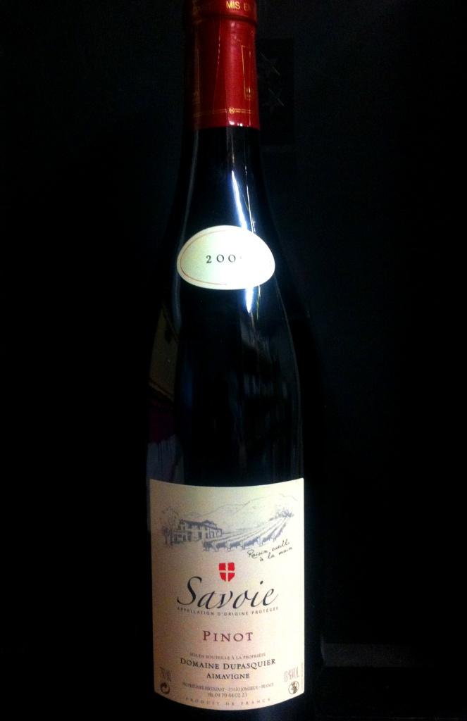 Vin de Savoie Mondeuse 2011