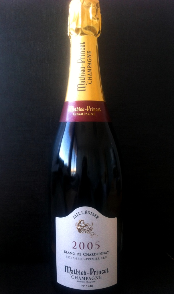 Champagne Mathieu-Princet 1er Cru Millesime 2008 Brut