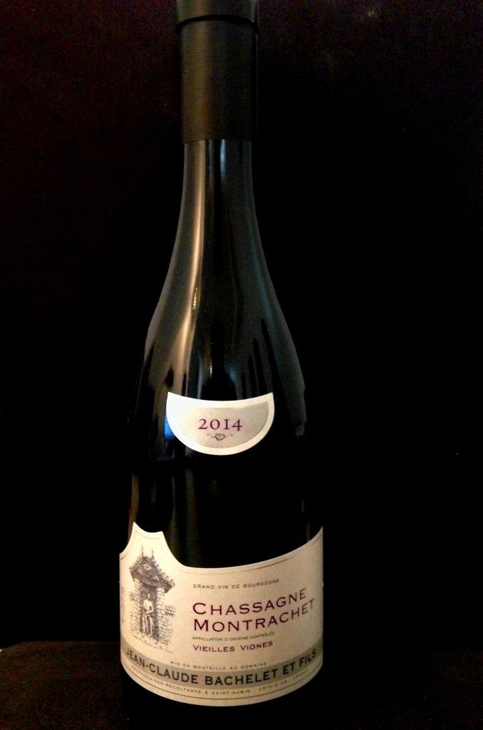 JC Bachelet Chassagne Montrachet Rouge Vieilles Vignes 2014