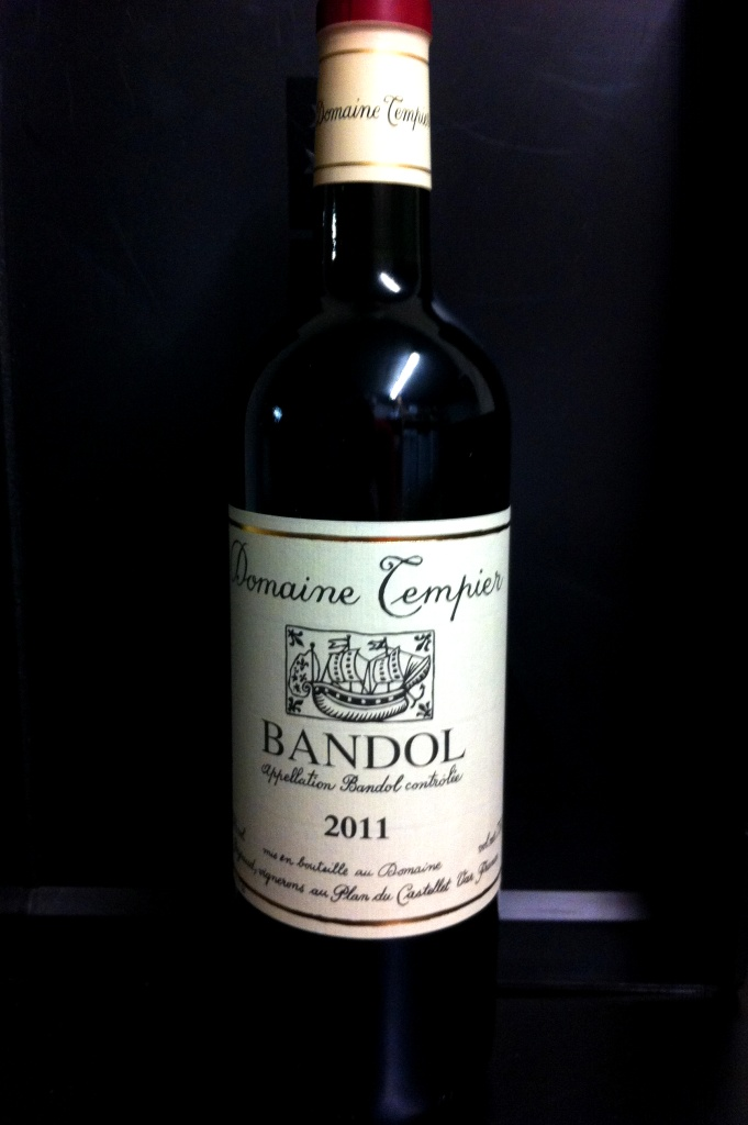 Bandol Domaine Tempier 2013